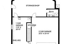 Home Plan - Contemporary Exterior - Other Elevation Plan #117-862