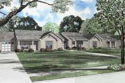 Ranch Style House Plan - 3 Beds 1.5 Baths 3225 Sq/Ft Plan #17-590