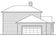 Beach Style House Plan - 2 Beds 2 Baths 2338 Sq/Ft Plan #124-1094 Exterior - Other Elevation