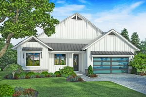 Architectural House Design - Farmhouse Exterior - Front Elevation Plan #938-106