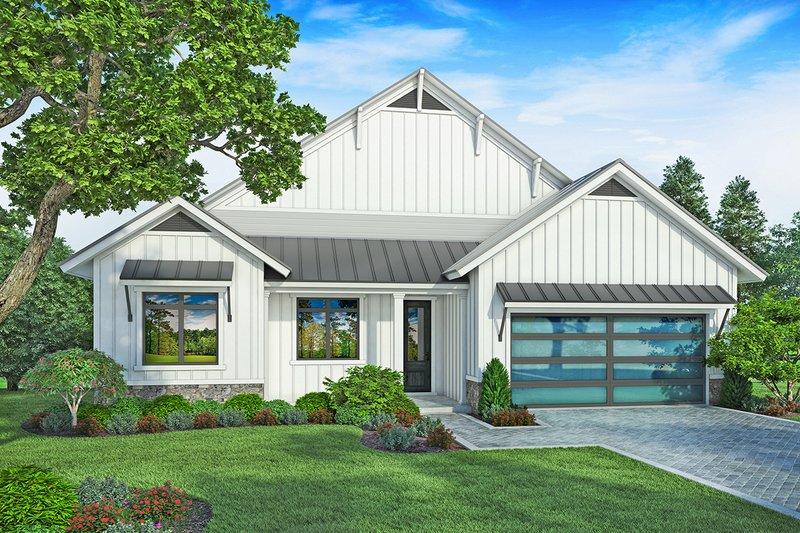 Farmhouse Style House Plan - 4 Beds 2 Baths 1736 Sq/Ft Plan #938-106