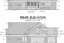 Traditional Exterior - Other Elevation Plan #51-347