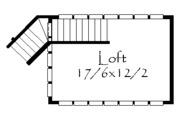 Prairie Style House Plan - 3 Beds 2 Baths 2264 Sq/Ft Plan #509-43 Floor Plan - Upper Floor Plan