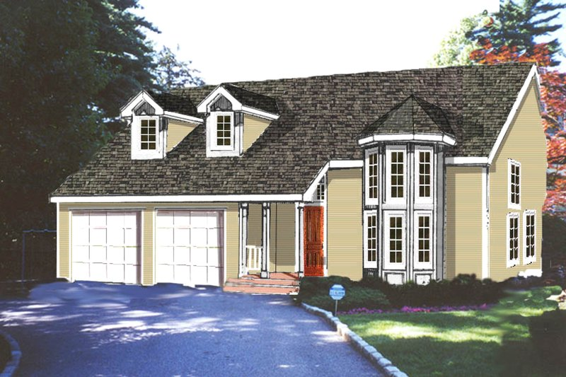 Traditional Exterior - Front Elevation Plan #3-312