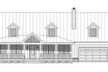 Country Exterior - Front Elevation Plan #932-207