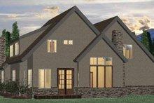 House Plan Design - European Exterior - Rear Elevation Plan #937-4