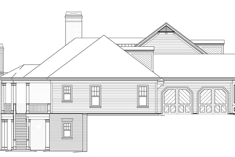 Colonial Exterior - Other Elevation Plan #429-442 - Houseplans.com