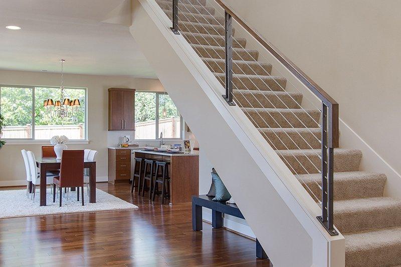 Contemporary Interior - Entry Plan #132-564 - Houseplans.com