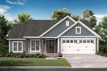 House Plan Design - Farmhouse Exterior - Front Elevation Plan #430-217