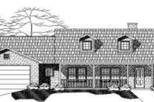 Country Exterior - Front Elevation Plan #24-219