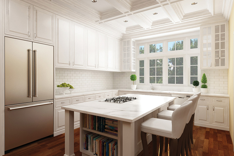 Craftsman Interior - Kitchen Plan #119-416 - Houseplans.com