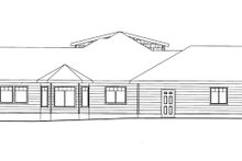 Ranch Exterior - Other Elevation Plan #117-851