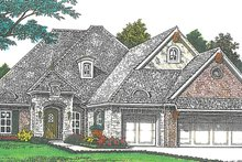Home Plan - European Exterior - Front Elevation Plan #310-1267