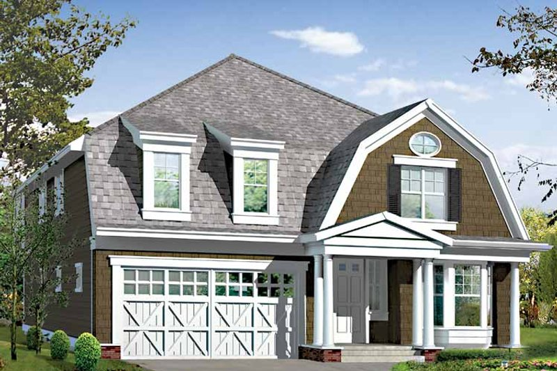 Craftsman Exterior - Front Elevation Plan #132-460 - Houseplans.com