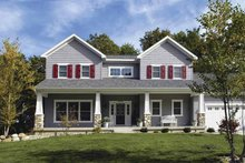 Craftsman Exterior - Front Elevation Plan #928-137