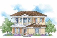Country Exterior - Front Elevation Plan #938-9