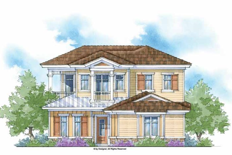 House Plan Design - Country Exterior - Front Elevation Plan #938-9