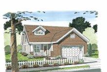 Craftsman Exterior - Front Elevation Plan #513-2105