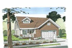 House Plan Design - Craftsman Exterior - Front Elevation Plan #513-2105