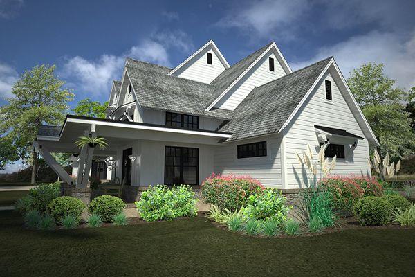 Home Plan - Country Floor Plan - Other Floor Plan #120-250