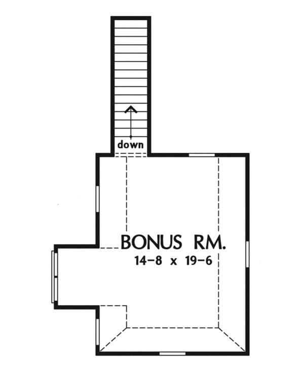 Cottage Floor Plan - Other Floor Plan Plan #929-927