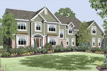 Traditional Exterior - Front Elevation Plan #328-458