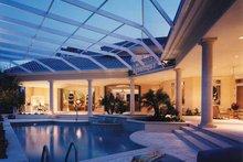 House Plan Design - Mediterranean Exterior - Rear Elevation Plan #930-256
