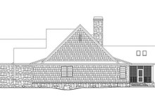 Craftsman Exterior - Other Elevation Plan #929-972