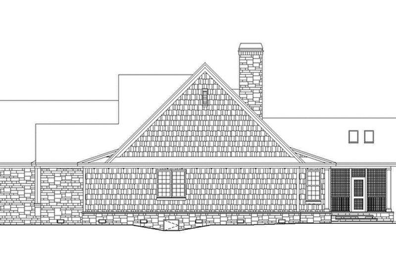 Craftsman Exterior - Other Elevation Plan #929-972 - Houseplans.com
