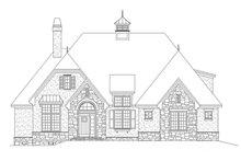 Home Plan - European Exterior - Front Elevation Plan #929-957
