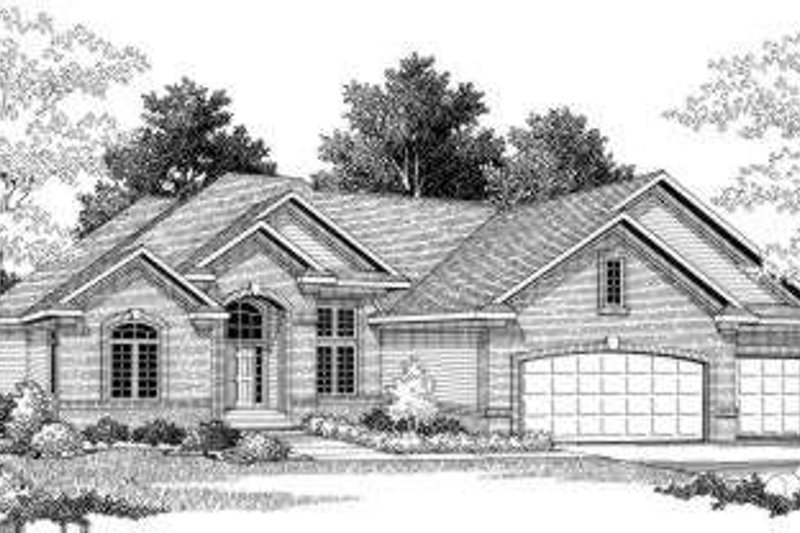 Traditional Exterior - Front Elevation Plan #70-784