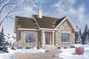 Craftsman Style House Plan - 2 Beds 1 Baths 1022 Sq/Ft Plan #23-2361 Exterior - Front Elevation