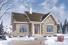 Craftsman Exterior - Front Elevation Plan #23-2361