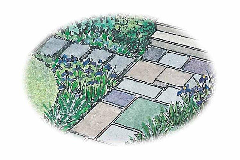 Exterior - Front Elevation Plan #1040-83 - Houseplans.com
