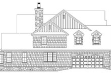 Craftsman Exterior - Other Elevation Plan #929-832