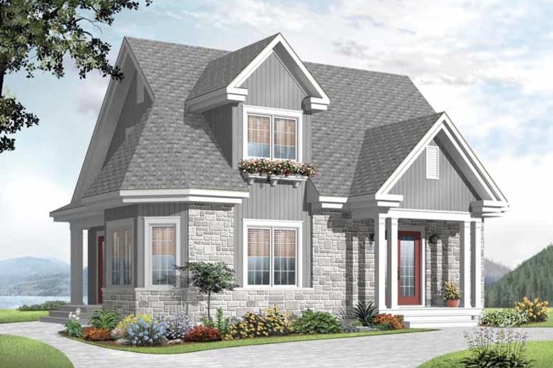Country Style House Plan 3 Beds 2 Baths 1534 Sq Ft Plan