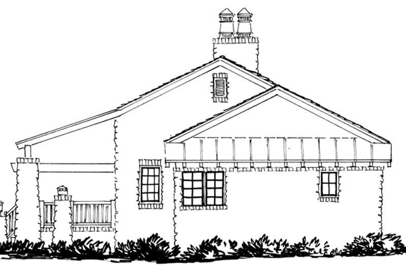 Craftsman Exterior - Other Elevation Plan #942-19 - Houseplans.com