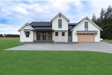 Dream House Plan - Country Exterior - Front Elevation Plan #1070-33