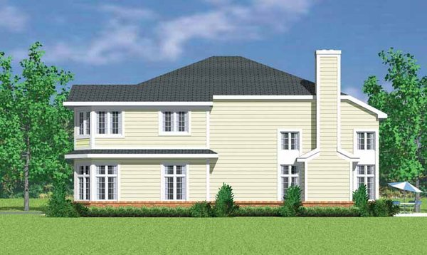 Country Floor Plan - Other Floor Plan Plan #72-1124