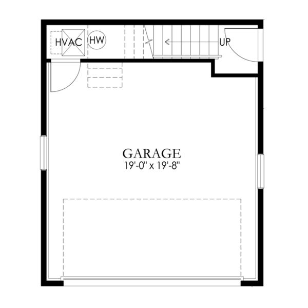Craftsman Floor Plan - Main Floor Plan Plan #1029-66