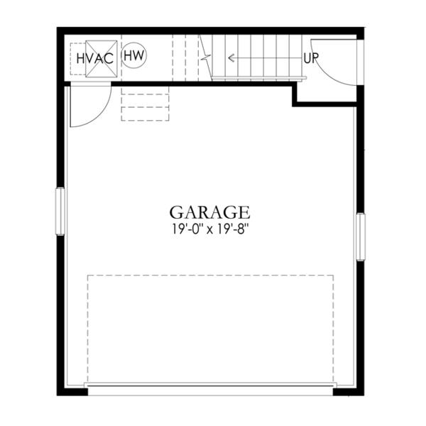 Dream House Plan - Craftsman Floor Plan - Main Floor Plan #1029-66