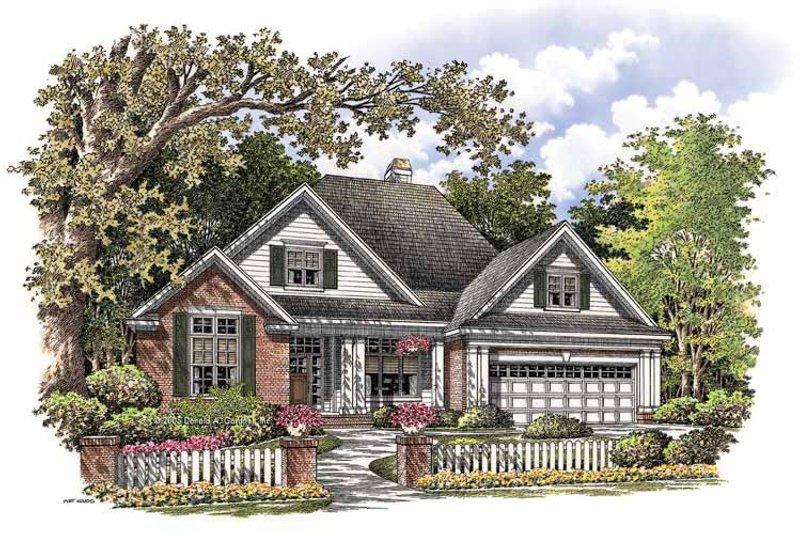 House Plan Design - Ranch Exterior - Front Elevation Plan #929-763