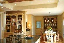 Traditional Interior - Kitchen Plan #928-26