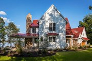 Country Style House Plan - 3 Beds 4 Baths 3347 Sq/Ft Plan #928-290 Exterior - Other Elevation