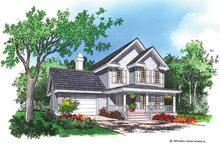 House Design - Country Exterior - Front Elevation Plan #929-253