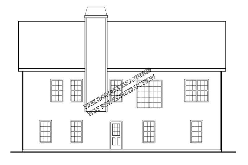 Ranch Exterior - Rear Elevation Plan #927-678 - Houseplans.com