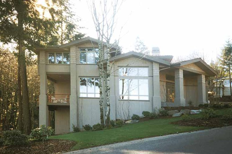 Craftsman Exterior - Front Elevation Plan #509-91 - Houseplans.com