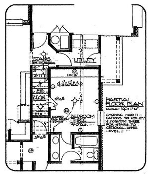 Southern Floor Plan - Other Floor Plan Plan #310-616