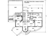 Victorian Style House Plan - 3 Beds 2.5 Baths 1953 Sq/Ft Plan #23-725 Floor Plan - Other Floor Plan