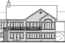 Traditional Exterior - Rear Elevation Plan #23-850